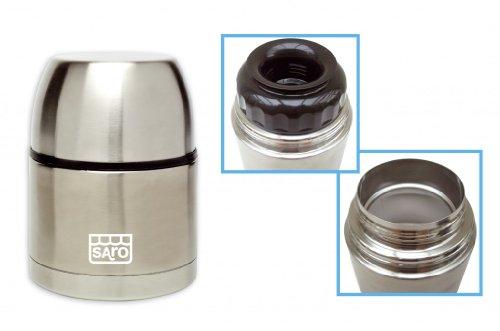 SARO Metal pot with carrying bag, 500 ml