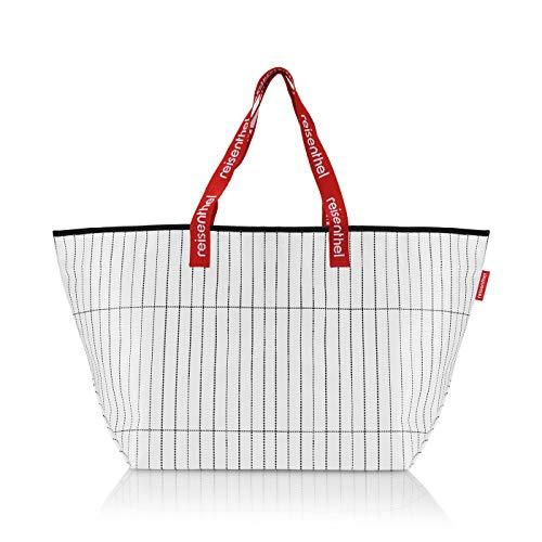 Reisenthel Black & White Einkaufstasche weiß 33 L