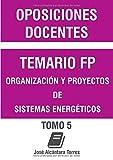 Temario Organización y proyectos de sistemas energéticos.: Tomo V