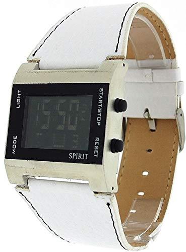Spirit ASPG09 - Orologio da polso, cinturino in plastica colore bianco