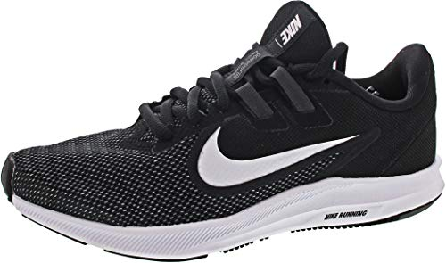 Nike Downshifter 9, Zapatillas Mujer, Multicolor Black White Anthracite Cool Grey 001, 38 EU