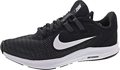 Nike Downshifter 9, Zapatillas de Running para Asfalto Mujer, Multicolor (Black/White/Anthracite/Cool Grey 001), 40 EU