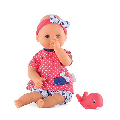 Corolle Mon Premier Bebe Bath Oceane 12' Baby Doll, Safe for Bathtub Or Pool, Floats in Water
