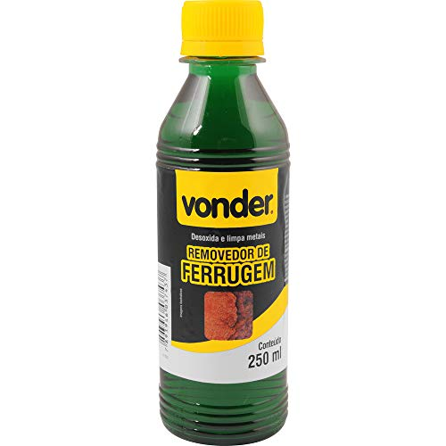 Removedor de ferrugem 250 ml Vonder