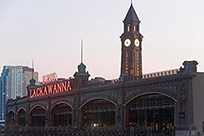 Poster Foundry Old Train Station Lackawanna Railroad Terminal Hoboken New Jersey Photo Art Print by ProFrames
