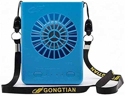 Aire acondicionado Apartamento, sin manguera de escape Ventilador / en ventilador Mini Portátil Ventilador al aire libre 3 velocidades USB Recargable Mini Mini Fan Aire Acondicionador portátil Ventila