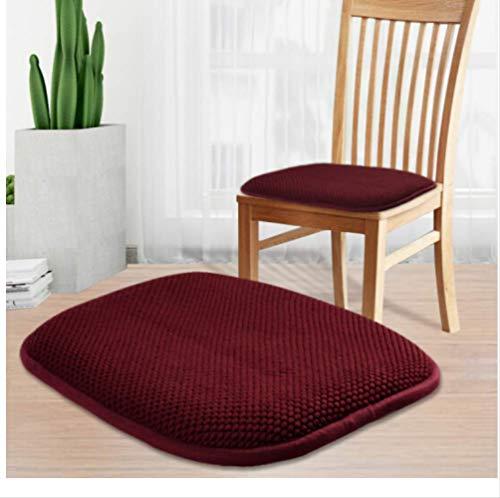 Kussen Memory Foam zachte anti-slip luier geschikt voor auto stoel bureaustoel gewatteerde bank kussen 40X40Cm
