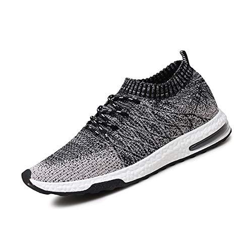 LLZGPZYDX ademende mesh-sneakers, herenschoenen, casual, zonder veters, mannelijk, schoenen voor volwassenen, modieus, mannen, hardloopschoenen voor mannen