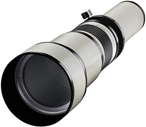 Samyang Obiettivo 650-1300mm F/8-16 Mc IF con Innesto a Vite 42/1, Nero