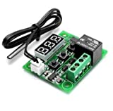 Size (L x W x H): 4 cm x 4 cm x 1 cm Measurement accuracy: 0.1 degree celsius, refresh rate: 0.5 s Input power: dc12v Output: 1 channel relay output, capacity is 10a Resolution: -9.9-99.9 0.1, other temperature ranges 1, measuring inputs: ntc (10K 0....