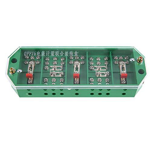 Caja de conexiones, buen recinto del proyecto de rendimiento de aislamiento 3000V / min de plástico y metal - 40 ℃ a + 60 ℃ (verde)