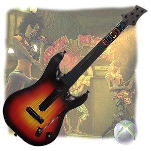 Red Octane Guitar Hero World Tour Wireless Guitar Controller for Xbox 360