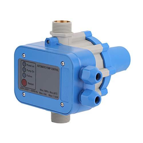 PC01 elektronische waterpomp automatische drukschakelaar waterpomp drukregelaar waterpomp bescherming (blauw) DEjasnyfall