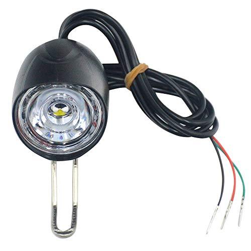 Kamenda E-Bike LED Licht 36V 48V 12W Wasserdicht Taschenlampe mit Hupe und Schalter