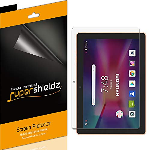 (3 Pack) Supershieldz for Hyundai Koral 10X2 10 inch Tablet Screen Protector, High Definition Clear Shield (PET)