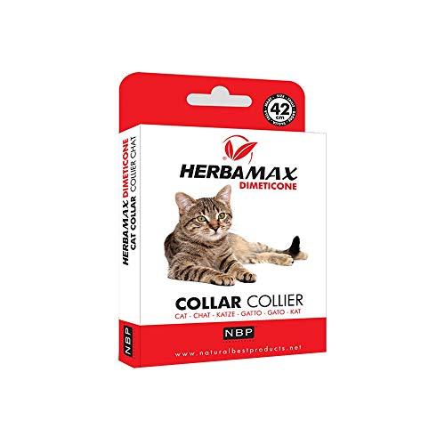 Natural best Product Herba Max DIMETICONE Collare antiparassitario 42cm per Gatto
