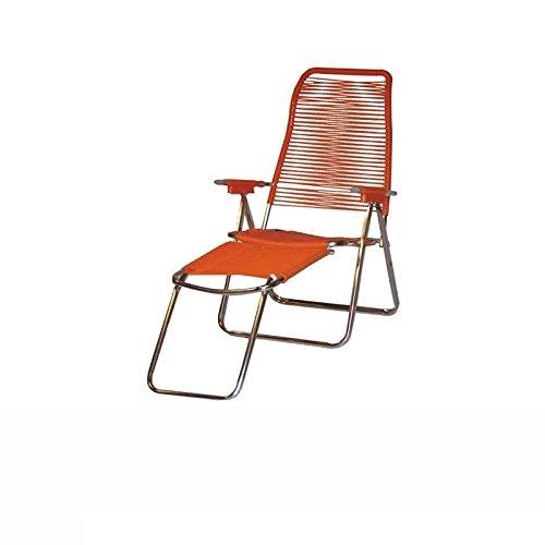 NEFFY SHOP Sdraio Cordonata a Mano Verniciata Arancione - 640