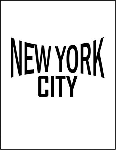 【ニューヨークシティー】 余白部分にオリジナルメッセージお入れします!ポストカード・はがき(白背景)