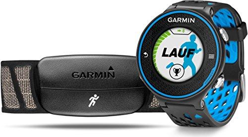 Garmin Forerunner 620 GPS-Laufuhr - Laufeffizienzwerte, Trainingssteuerung- und auswertung, inkl. Herzfrequenz-Brustgurt, 1 Zoll (2,5cm) Farbdisplay
