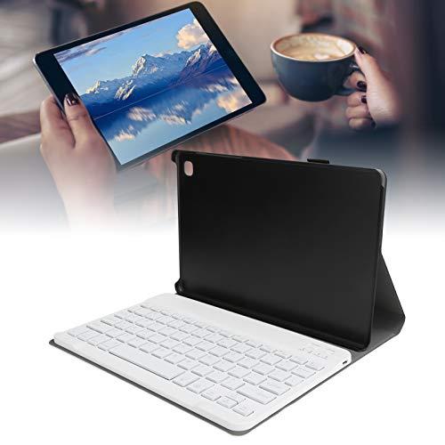 Estuche para Teclado Bluetooth, Cubierta de Soporte de Carcasa Delgada portátil para el Aula para el hogar para Tableta para Escribir(Rose Gold, Pisa Leaning Tower Type)