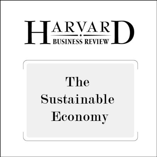 The Sustainable Economy (Harvard Business Review) audiobook cover art