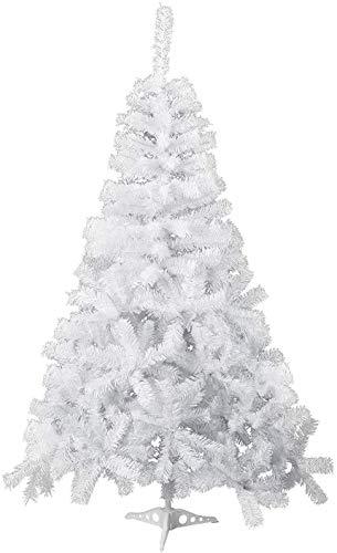 Albero di Natale Artificiale PVC Bianco da 90cm 135 Rami Decorazione di Natalizio incl. Supporto in Plastica