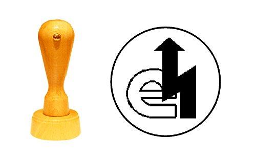 Stempel Holzstempel Motivstempel « ELEKTRIKER » Zunftzeichen