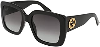 Gucci GG0141S Rectangle Sungl for Women +. FREE Complimentary Eyewear Kit