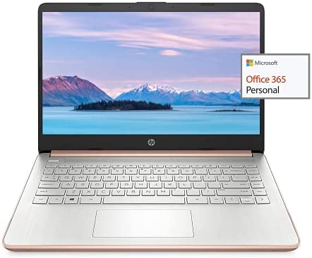 2021 Newest HP 14″ HD Laptop Light-Weight, AMD 3020e(Up to 2.6GHz), 16GB RAM, 512GB SSD + 64GB eMMC, 1 Year Office 365, WiFi, Bluetooth 5, USB Type-A&C, HDMI, Webcam, Win10, w/Ghost Manta Accessories