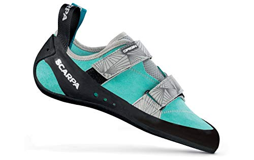 SCARPA Womens Origin Rock Climbing Shoes, Maldive/Black, 7.5