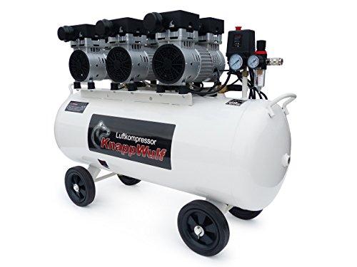 KnappWulf KW2100 Kompressor / 100 Liter / 8 Bar / Ölfrei / Silent - 4
