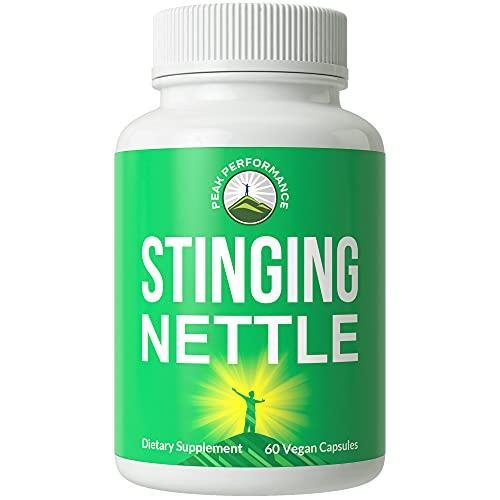 Organic Stinging Nettle. Vegan Capsules Made with Organic Stinging...