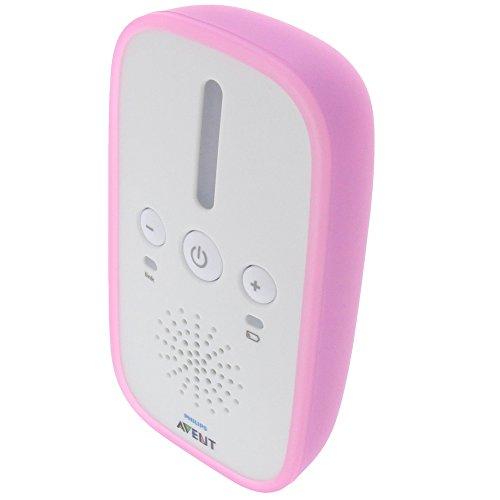 foto-kontor Tasche für Philips Avent SCD501 Gummi TPU Schutz Hülle pink
