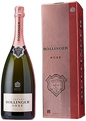 Bollinger Rose Non Vintage Magnum Champagne in Gift Box, 150 cl