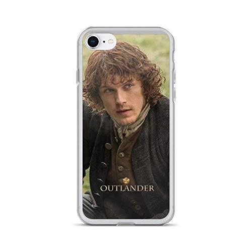 NGNHMFD Outlander/Jamie Fraser Compatible con iPhone 11 Pro MAX 12 Pro MAX Mini SE 2020 6/6s 7/8 Plus X XS XR Samsung Galaxy Funda Protectora de TPU
