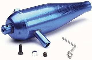 Traxxas 4942 High Performance Blue Aluminum Tuned Exhaust Pipe, T-Maxx 2.5