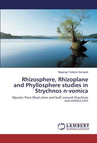 Rhizosphere, Rhizoplane and Phyllosphere studies in Strychnos n-vomica: Mycotic flora (Root,stem and leaf) around Strychnos nux-vomica Linn