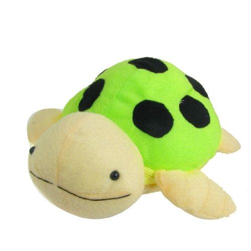 uxcell Green Black Tortoise Shape Zip Up 20 Pcs Capacity CD DVD Bag Holder