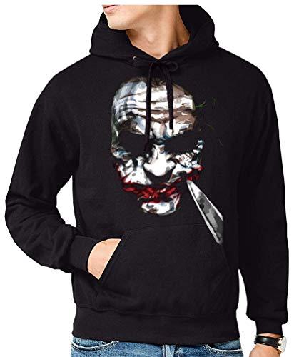 Sudadera de Hombre Batman Robin Joker DC Gotham 038 L