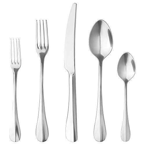 IKEA Gamman 20-Piece Flatware Set, Stainless Steel
