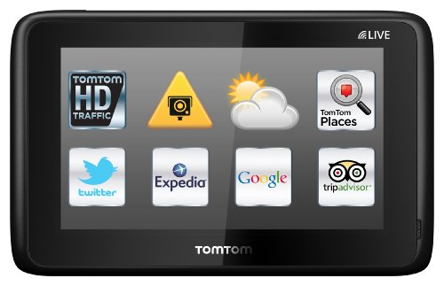 TomTom GO LIVE 1015 World (12,7cm (5 Zoll) Fluid Touch Display, HD Traffic, Google, Expedia, Bluetooth, Parkassistent, 66 Länderkarten)