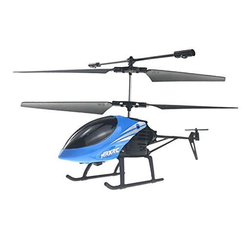 YAMAZA RC Hubschrauber Intelligente Elektrische Ferngesteuerte Flugzeuge Helikopter mit Gyroskop Schweben Kinder Spielzeug Flugzeug Drohne (Blau)