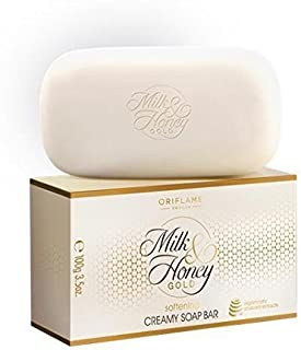 Oriflame Milk and Honey Gold Softening Soap Bar, 100g (Pack of 2)