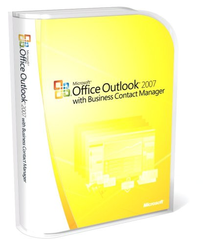 Microsoft Office Outlook 2007, with Business Contact Manager (PC CD)