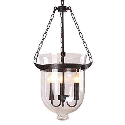 Plafondlamp lampenkap kroonluchter van glas bar Ristorante Casa Rurale 3 lampen Sedile E14 keuze