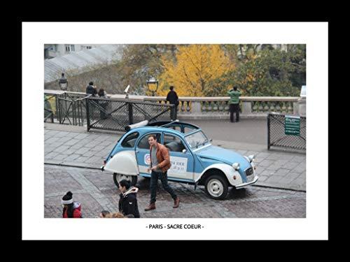 QUADRO PARIS - SACRE COEUR (MOLDURA PRETA, IMAGEM COLORIDA)