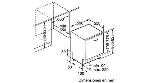 Balay 3VH385NA Totalmente integrado 14cubiertos A++ lavavajilla ...