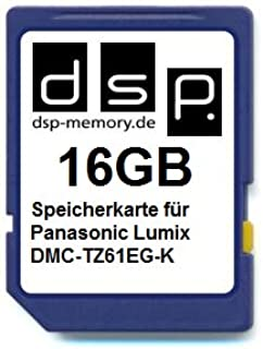 DSP Memory 16GB Speicherkarte für Panasonic Lumix DMC TZ61EG K