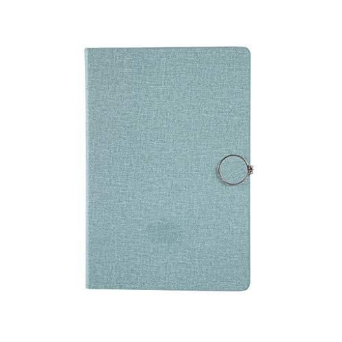 Cuadernos de taquigrafía Cuaderno A5 Hebilla Engrosamiento de Cuaderno Cuaderno Simple Papelería Negocio Libro de Registro de Trabajo portátil Oficina y papelería