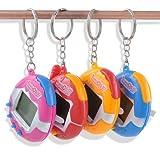 Pppby Schöne Tamogotchi Original Elektronische Virtuelles Haustier Spielzeug 49 In 1 Lustigen Digitalen Haustier Schlüsselring Für Kinder Geburtstagsgeschenk